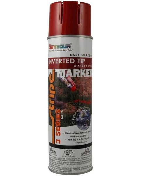 Seymour 20-371 Flammable Fast Drying Inverted Tip Marking Paint, 20 Oz