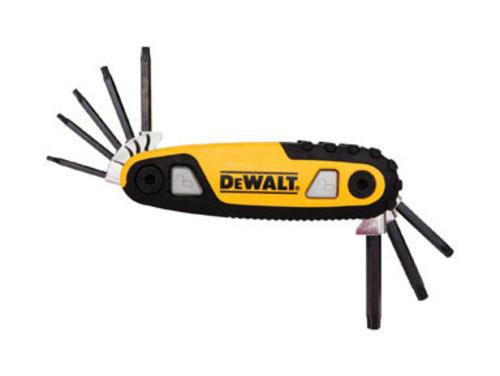 DeWalt DWHT70264 Folding Hex Key Set
