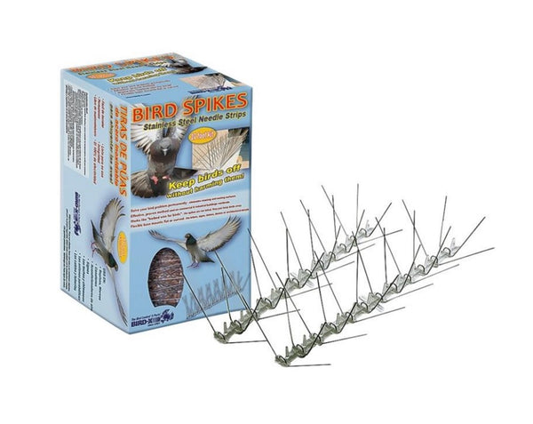 Bird-X STS-10 Bird Spikes Stainless Steel 10'
