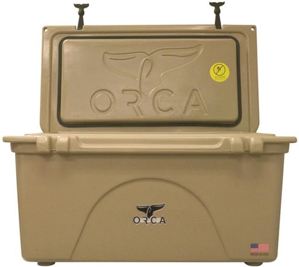 ORCA ORCT075 Insulated Cooler, 75 Quart, Tan