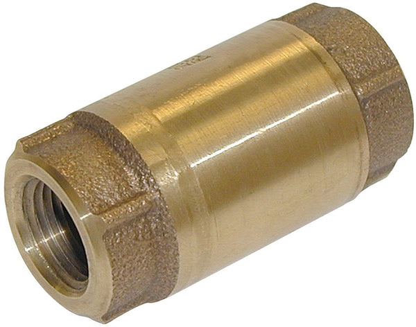 Mueller 101-307NL Low Lead In Line Check Valve, Bronze