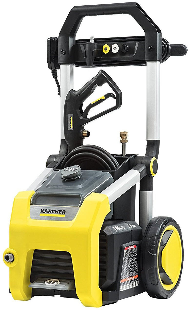 Karcher K1900 Electric Power Pressure Washer, 1900 PSI, 1.3 GPM