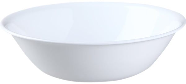 Corelle 6020977 Livingware Serving Bowl, Winter Frost White, 2-Quart