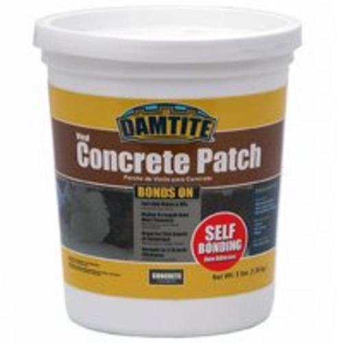 Damtite 04003 BondsOn Self-Bonding Vinyl Concrete Patch, Gray, 3 Lb