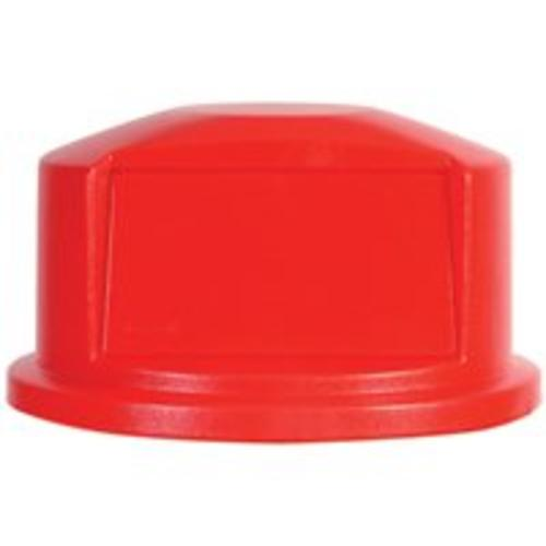 Rubbermaid FG263788RED Dome Top Container 32 Gallon, Red