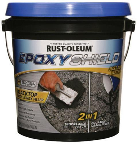 Rust-Oleum 250700 Epoxy Shield Blacktop Patch & Crack Filler 10Lb.