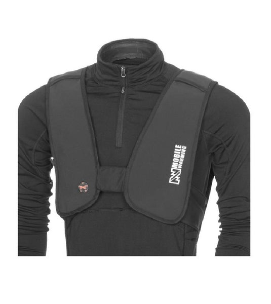 Mobile Warming MW14U08-1 BLK Unisex-Adult Thawdaddy Heated 7.4 Vest, Black, Small/Medium