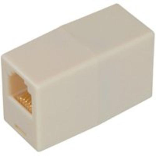 "Zenith TS1001CA In-Line Coupler, 0.87""x1.37""x0.5"", Almond"