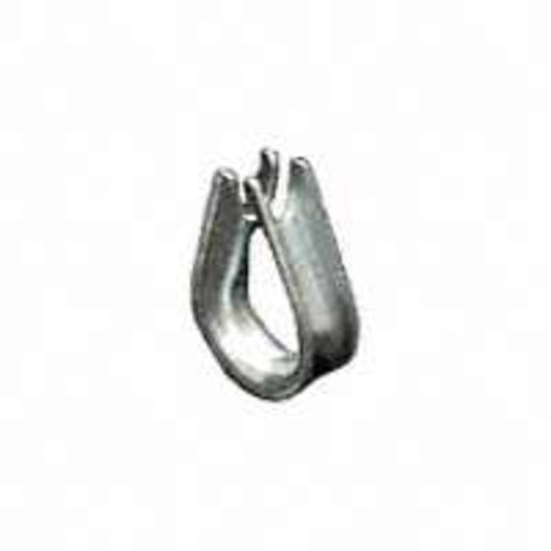 "Laclede Chain 264EG5/859330404 ""Baron ""  Galvanized Wire Rope Thimble 5/16"""