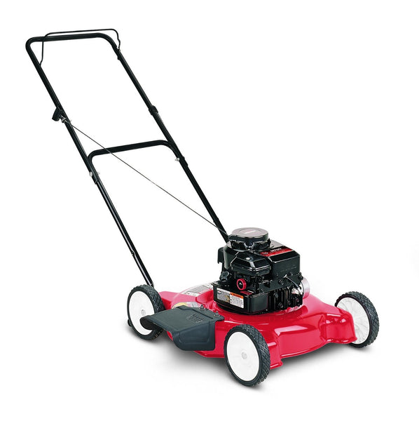 "Yard Machines 11A-020B000 Side Discharge Push Lawnmower, 148cc, 20"" Cut Path"