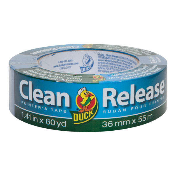 "Duck 240194 Clean Release Multiple Surfaces Painter's Tape, 1.41"" x 60 yd"