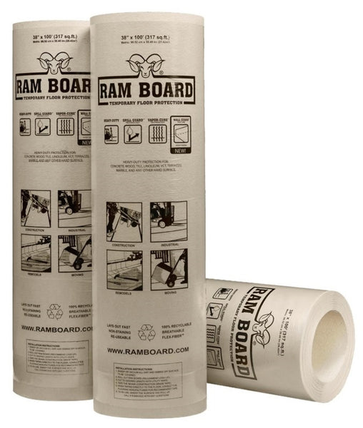 "Ram Board 46 RB 38-100 Floor Protection, 38"" x 100'"