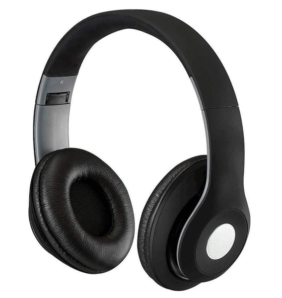 iLive IAHB48MB Over Ear Bluetooth Headphones, Black