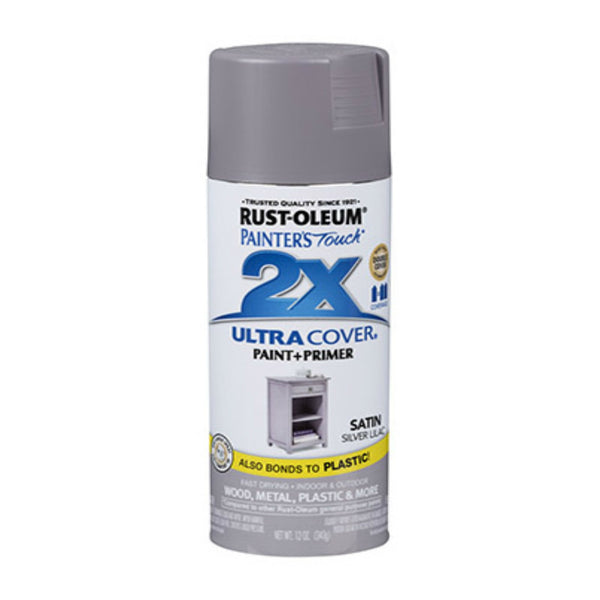 Rust-Oluem 329201 Painter's Touch 2X Ultra Cover Paint & Primer Spray, 12 Oz