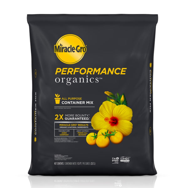 Miracle-Gro 45651300 Performance Organics Container Mix