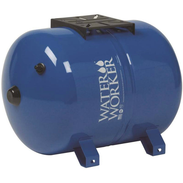 Water Worker HT-14HB H2OW-TO Pre-Charged Horizonal Pump Tank, 14 Gallon