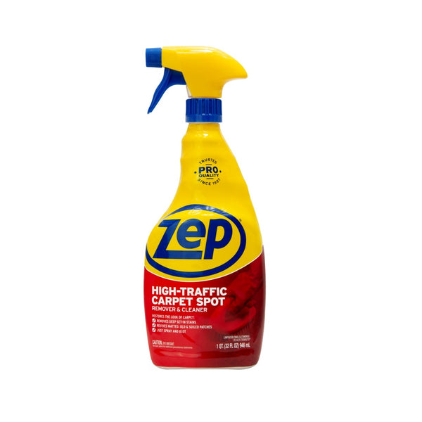 Zep ZUHTC32 Commercial High-Traffic Carpet Cleaner, 32 Oz