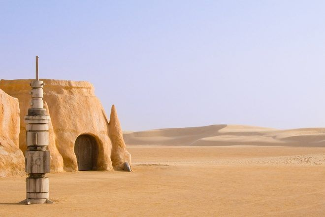 30-Hour Rave In The Star Wars Desert Location