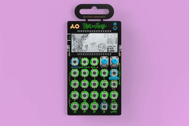 Pocket Operator Announce Rick and Morty Pocket Synthesizer