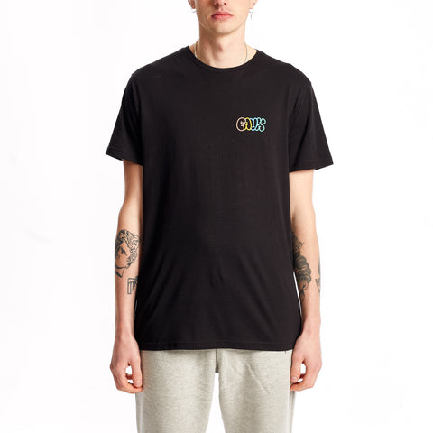 Squiggle T-Shirt Black