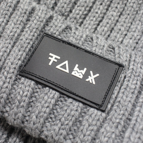 Friend or Faux | Men's Nasu Grey Beanie