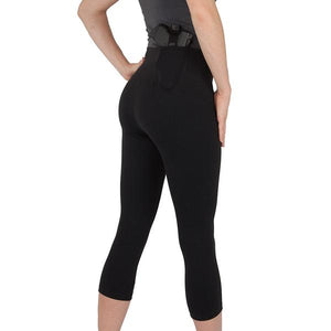 Ladies Concealed Carry 3/4 Length Leggings