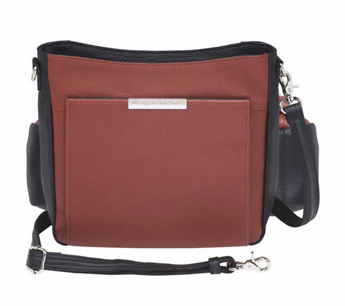 Cinnamon & Black Crossbody