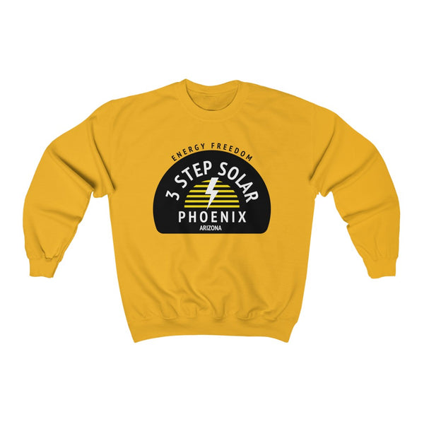 3 Step Solar - Unisex Heavy Blend™ Crewneck Sweatshirt