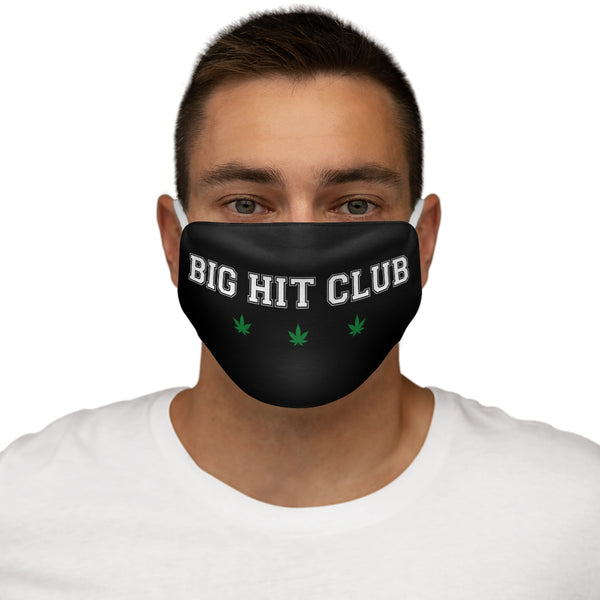 Big Hit Club - Snug-Fit Polyester Face Mask