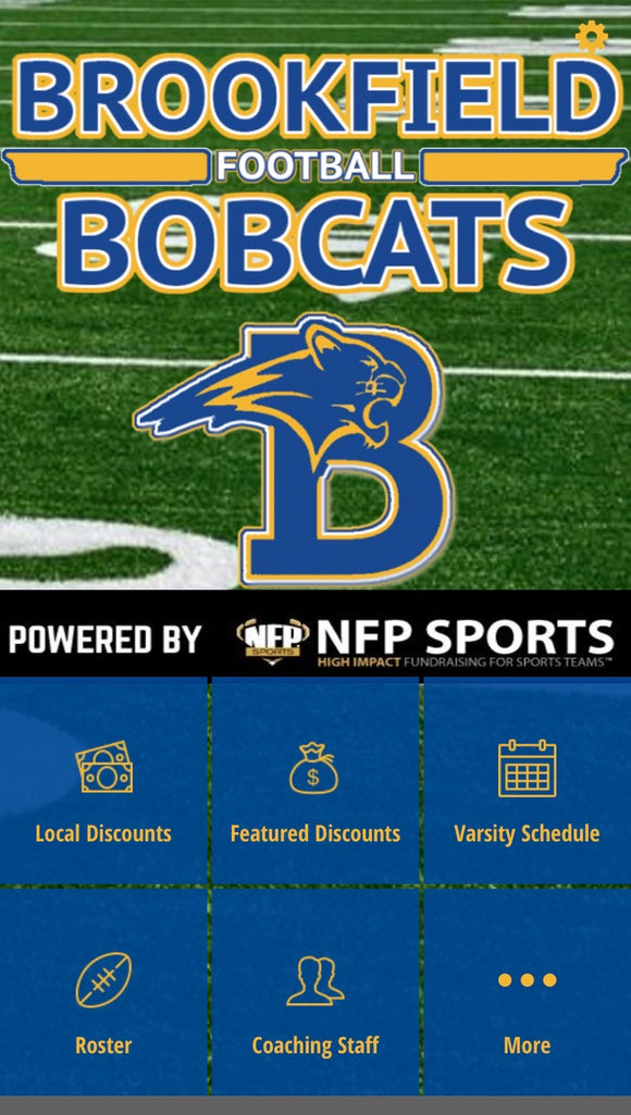 Brookfield Bobcats Football Mobile App
