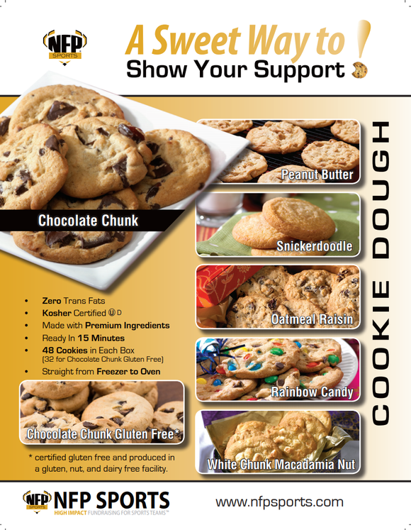 Tom's River H.S. Girls' Lacrosse Cookie Dough Online Pay