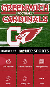 Greenwich Cardinals Football Football Mobile App