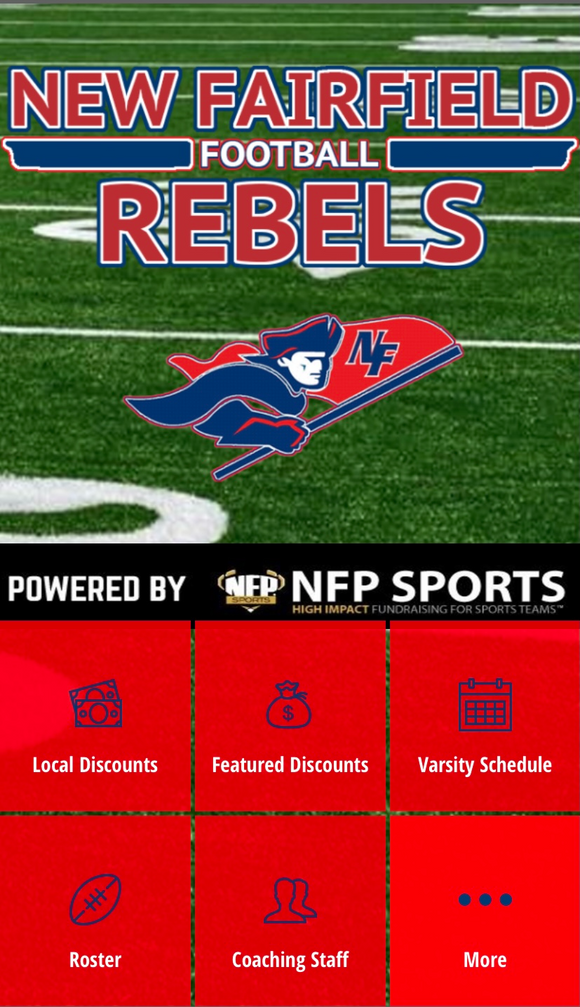 New Fairfield Rebels Football Mobile App