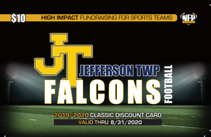 Jefferson Township Falcons Football Classic Discount Card