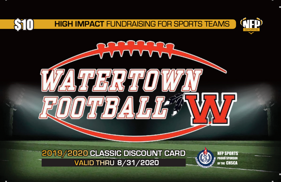 Watertown Indians Football Classic Discount Card
