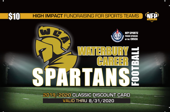 WCA Spartans Football Classic Discount Card 2019