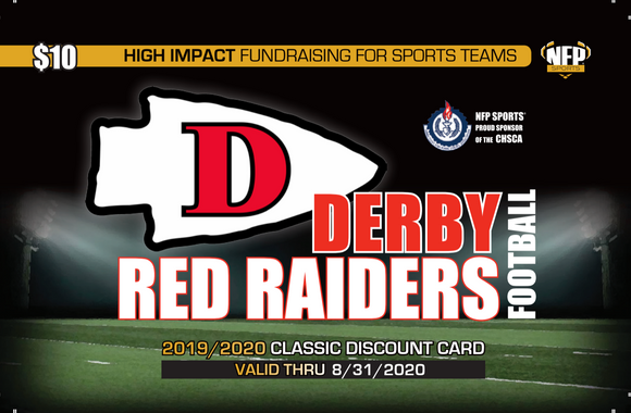 Derby Red Raiders Football Classic Discount Card
