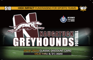 Naugatuck Greyhounds Football Classic Discount Card
