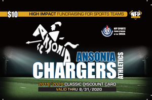 Ansonia Chargers Football Classic Discount Card