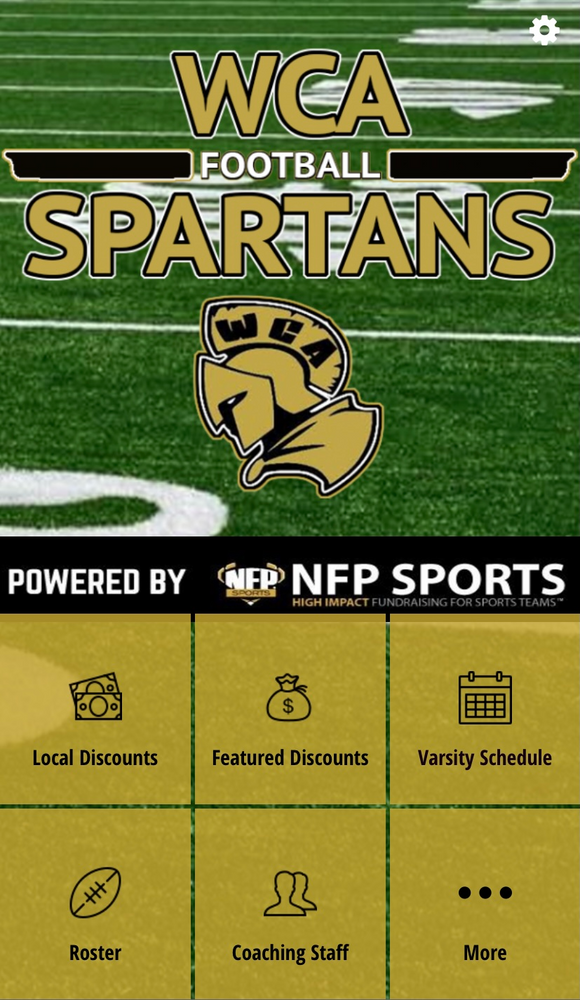WCA Spartans Football Mobile App