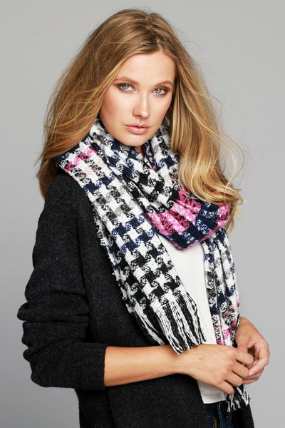 Woven Scarf with Fringe