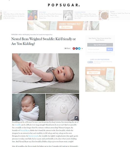 Zen Swaddle: Kid-Friendly or Are You Kidding?