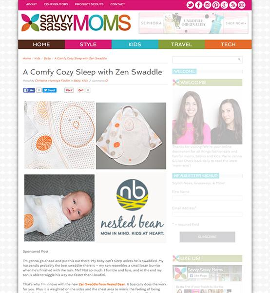 Love or shove: weighted baby swaddling blanket?