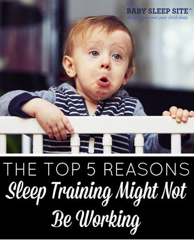 5 Reasons Sleep Training Might Not Be Working