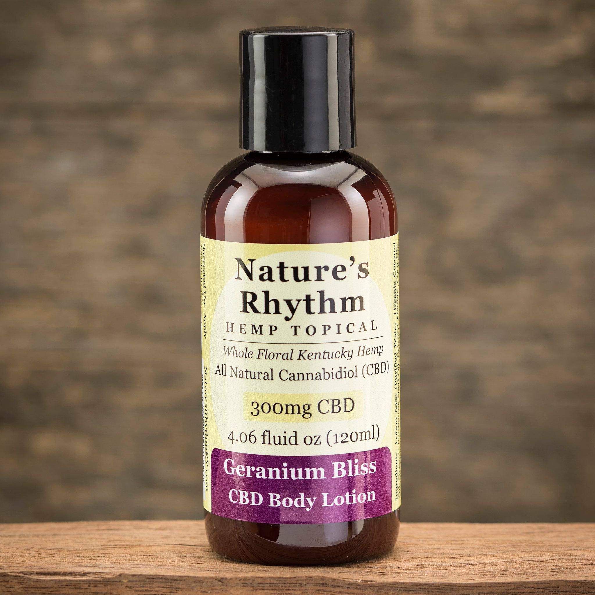 4oz 300mg CBD Body Lotion