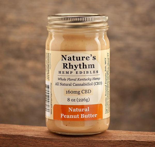 Natural Peanut Butter 160mg CBD