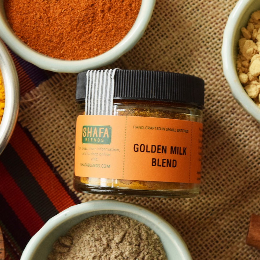 Golden Milk Blend - Shafa Blends