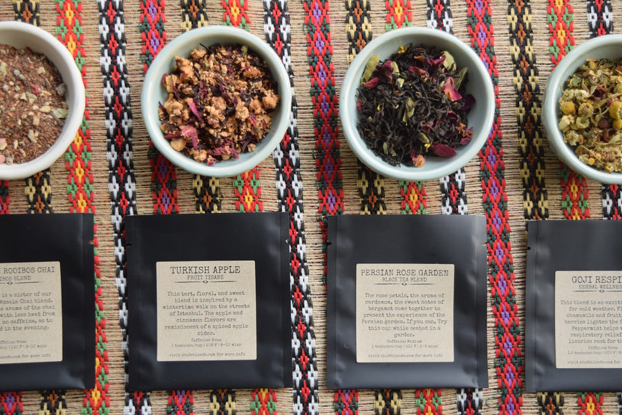 Signature Tea Sampler Pouches
