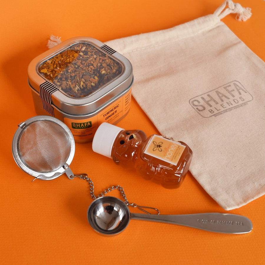 Tea and Honey Gift Pouch