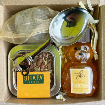 Mini Honey + Tea Gift Box